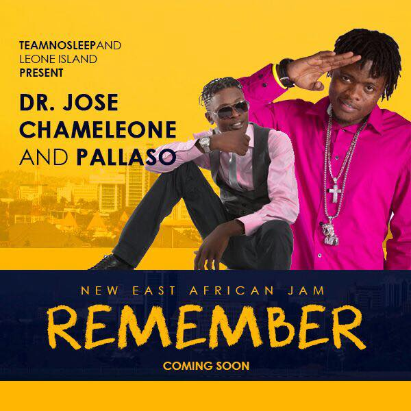 Pallaso and Jose Chameleone to release a new song,
