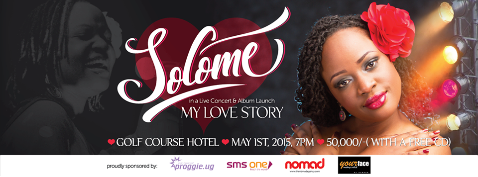 Official poster of the Solome concert