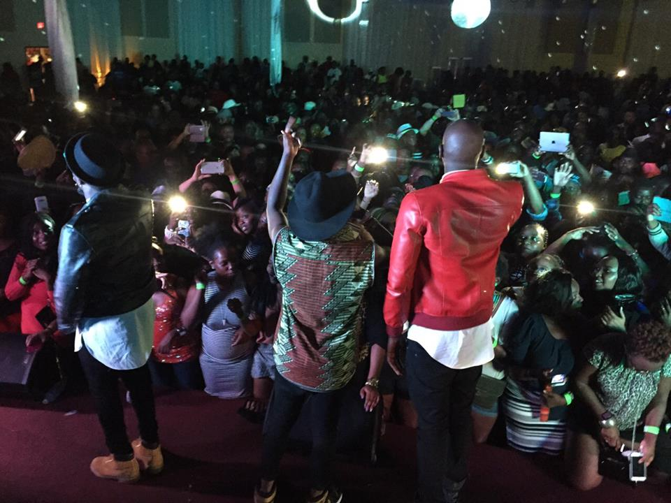 Kenzo and Sautisol pulled a massive crowd