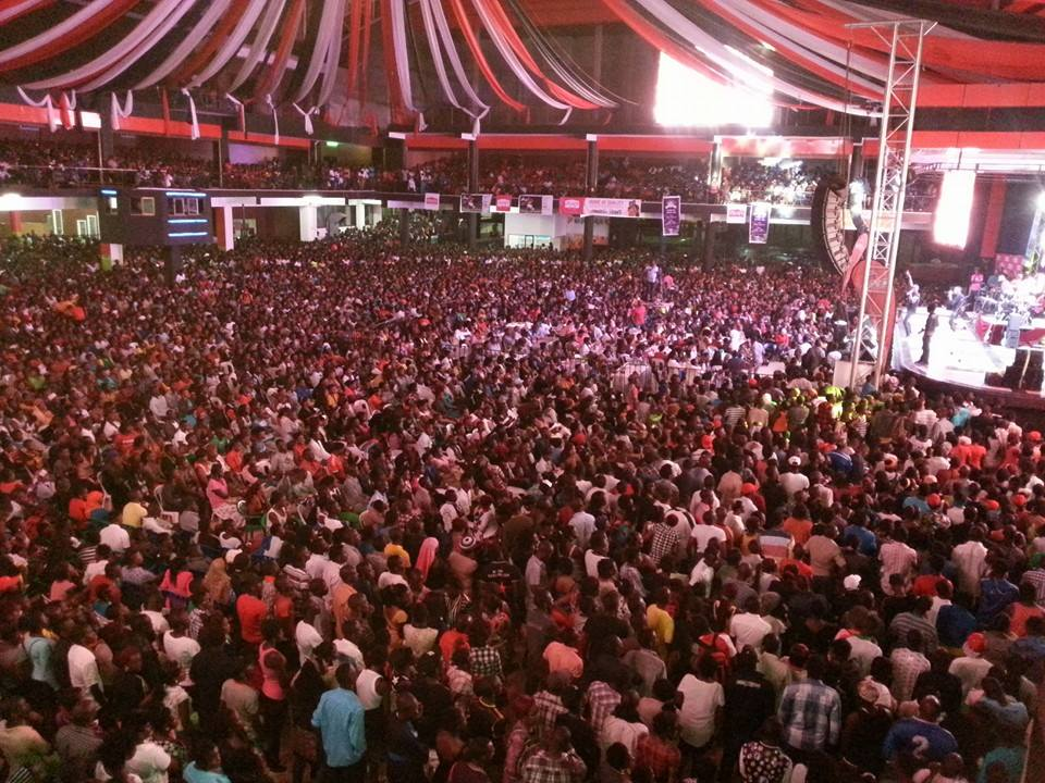 King Saha's concert was completely sold out