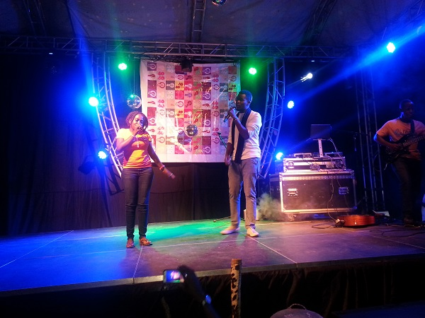 40 40 member performs with JC Muyonjo
