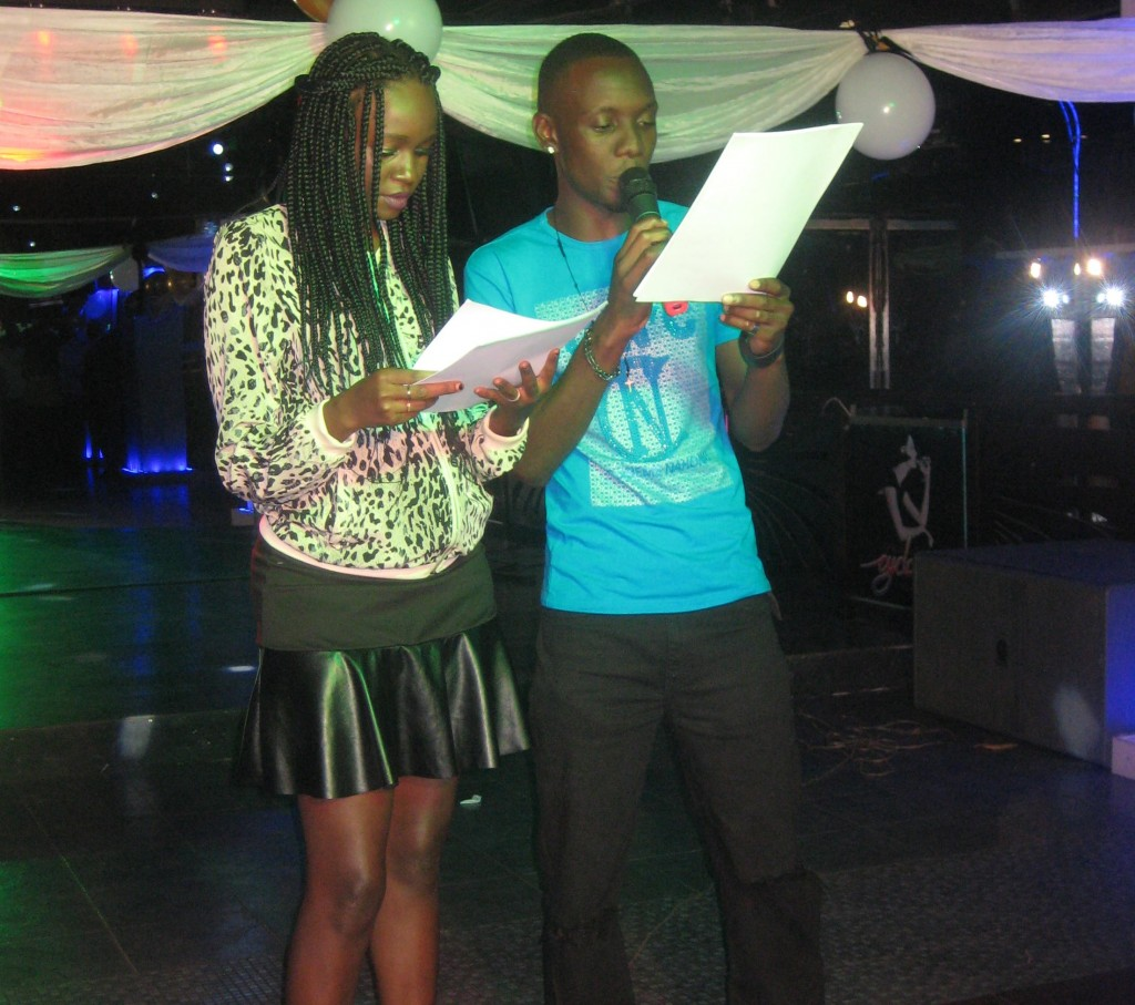Robin Kisti and colleague read the nominees