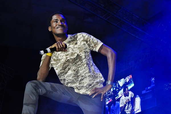 A Pass to perform at the Konshens and Busy Signal concert