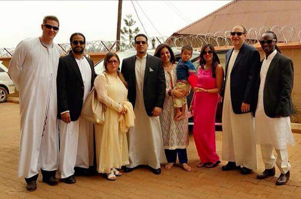Ali Alybhai with family