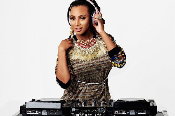 DJ Cuppy excites fans at club Venom