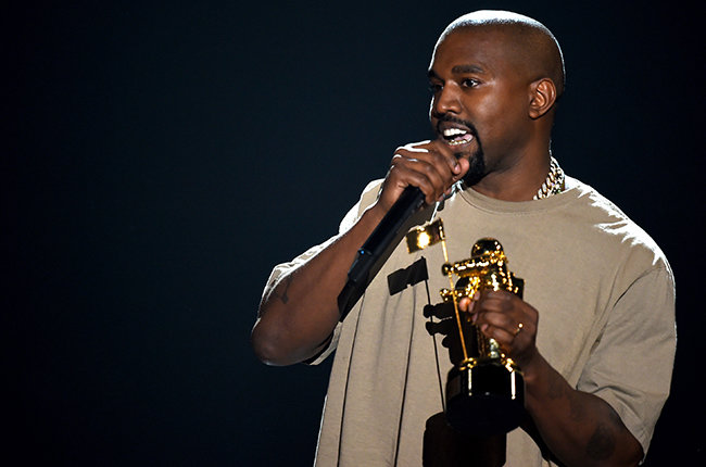Kanye West accepts the Video Vanguard Award onstage during the 2015 MTV Video Music Awards at Microsoft Theater on August 30, 2015 in Los Angeles, California.  (Photo by Kevin Winter/MTV1415/Getty Images For MTV)