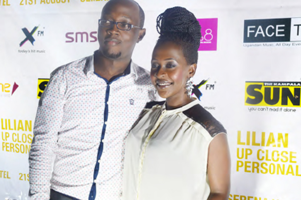 Joshua Muzune with Lillian Mbabazi
