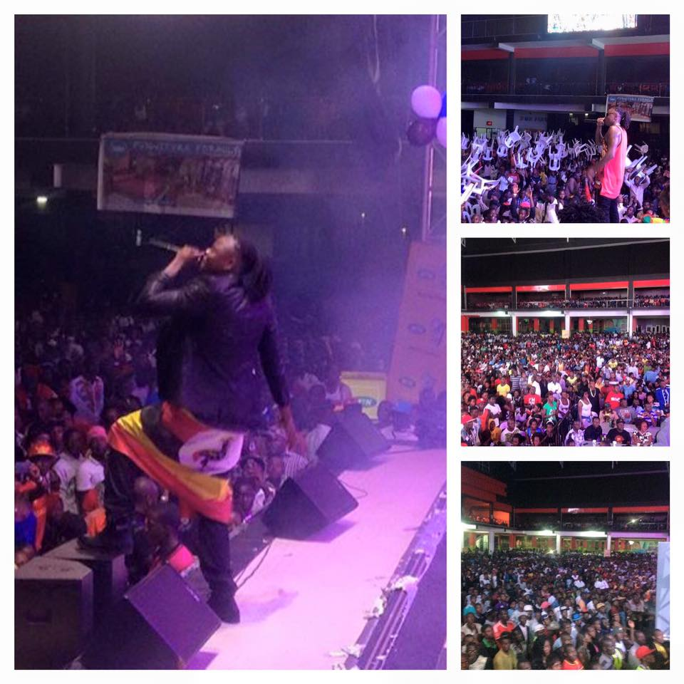 Pallaso's twatoba concert sold out