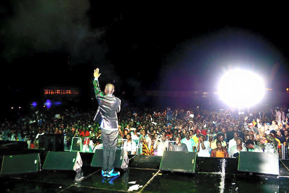 Jose Chameleone thanks his fans