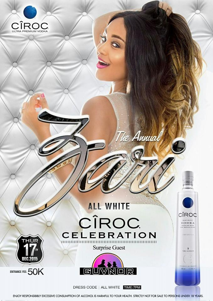 The Zari all white party is around the corner.