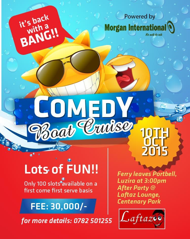 The Comedy boat cruise is back
