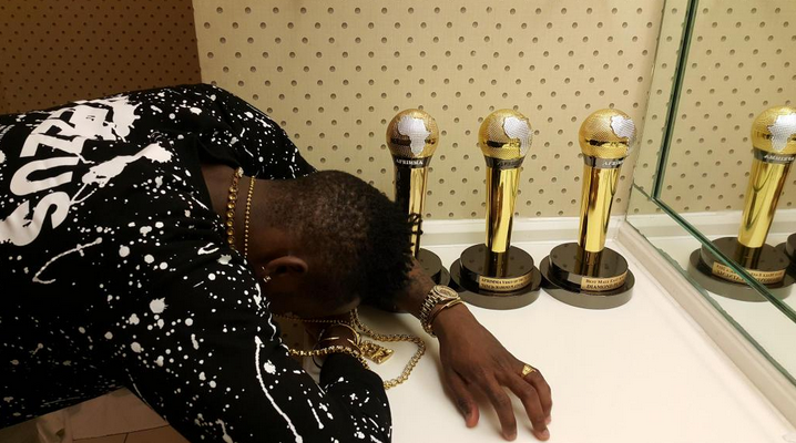Diamond Platnumz overwhelmed with joy after scooping 3 Afrimma awards