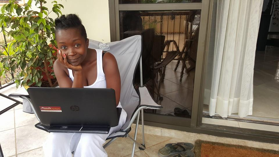 Anne Kansiime took time  off her busy schedule to answer questions