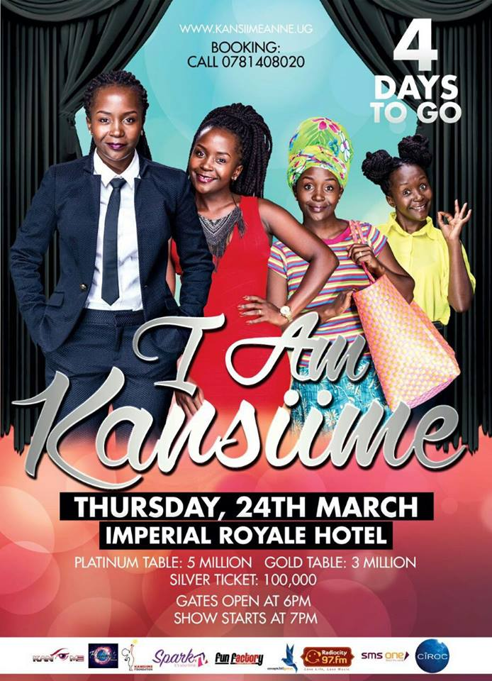 Are you ready for the I am Kansiime show