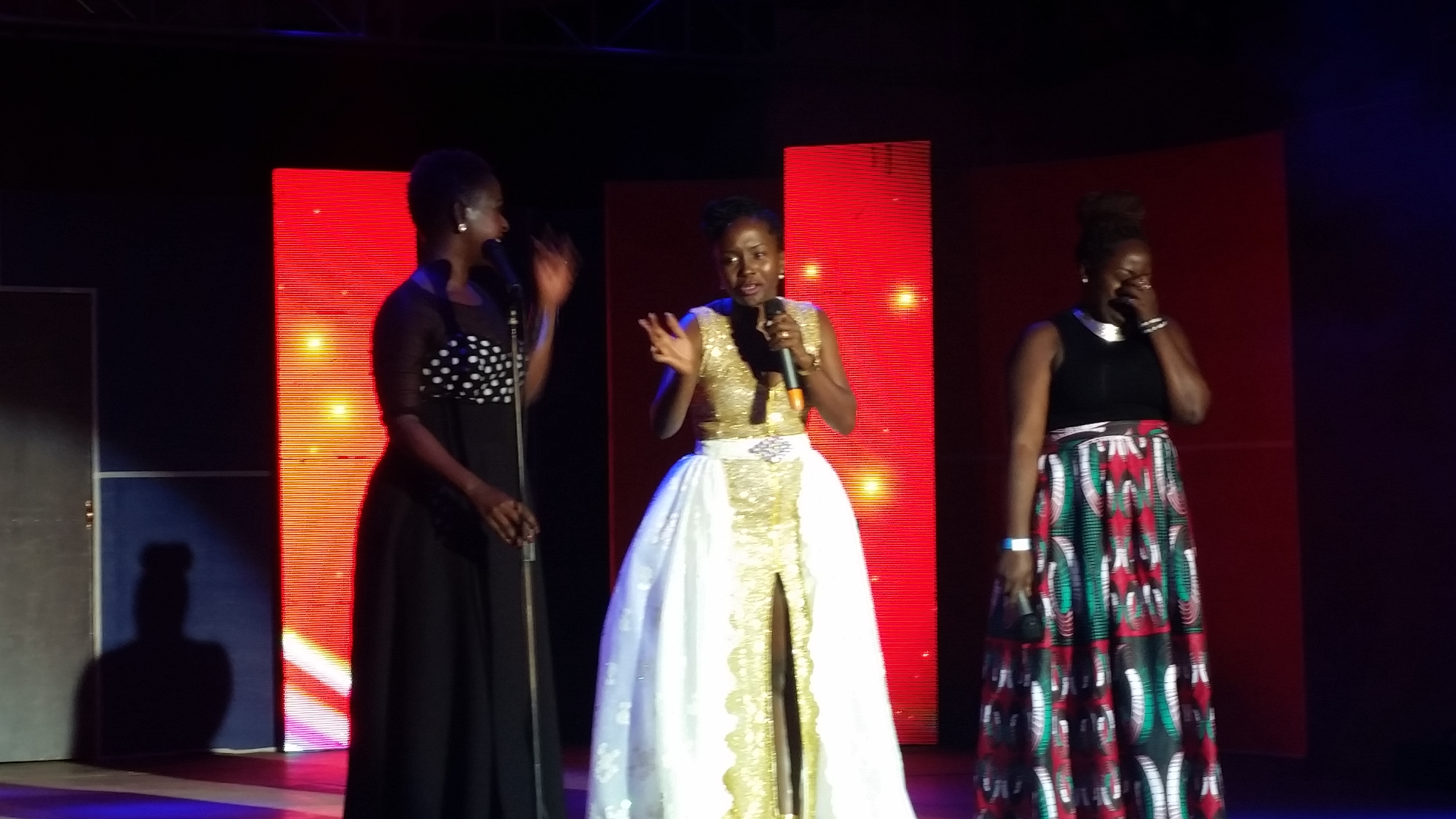 Lillian Mbabazi, Kansiime and Shane put on a flawless show