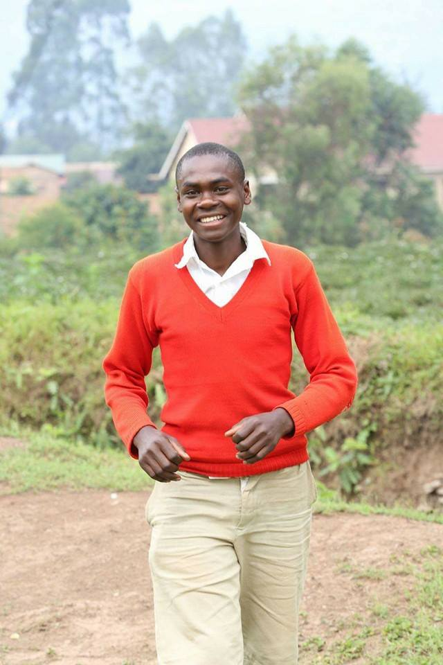 Enock is one of the children benefiting from the Kansiime foundation