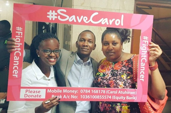 The #SaveCarol campaign is raising awareness for Ugandans to Carol