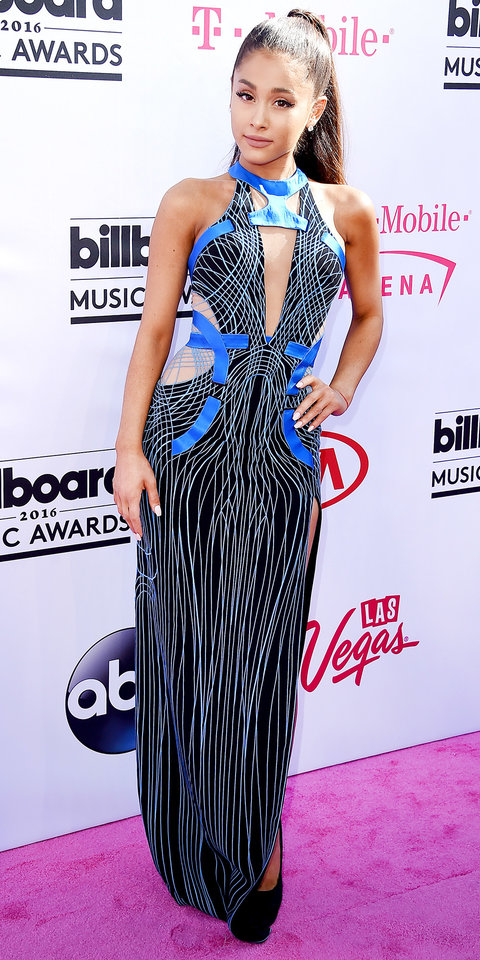 LAS VEGAS, NV - MAY 22: Recording artist Ariana Grande attends the 2016 Billboard Music Awards at T-Mobile Arena on May 22, 2016 in Las Vegas, Nevada. (Photo by Steve Granitz/WireImage)