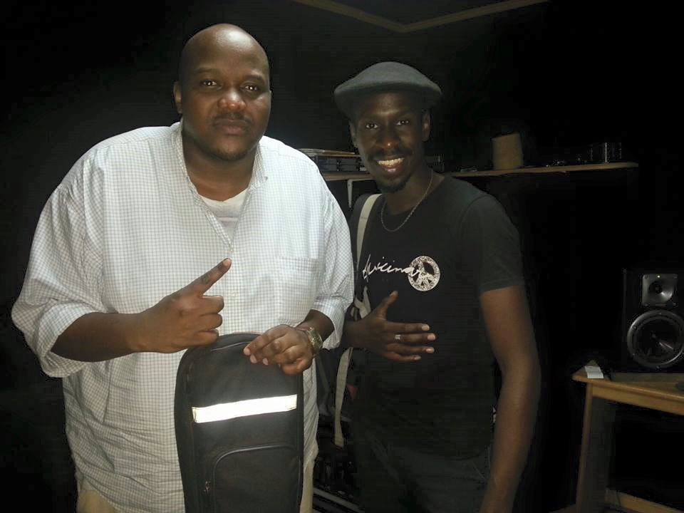 The Mith collaborated with Myko Ouma (right) on the Nze Wuwo song