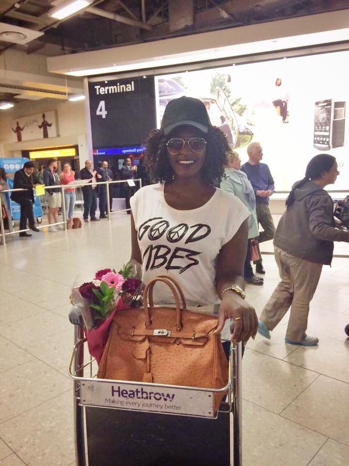 Winnie Nwagi thrilled her fans in London