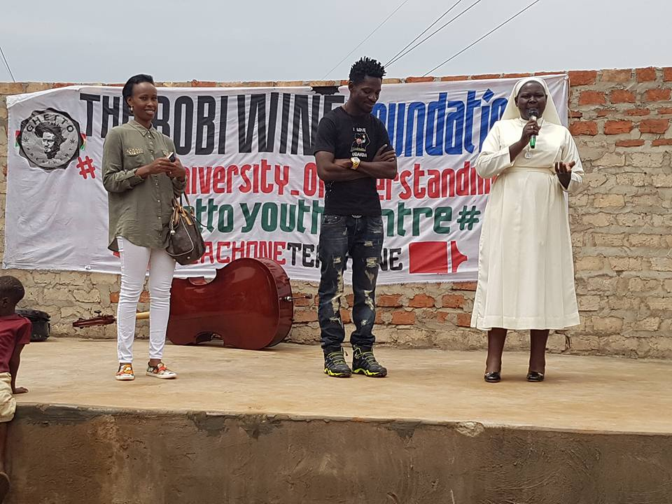 The Ghetto president was hailed for helping fundraise for the Nkozi hospital