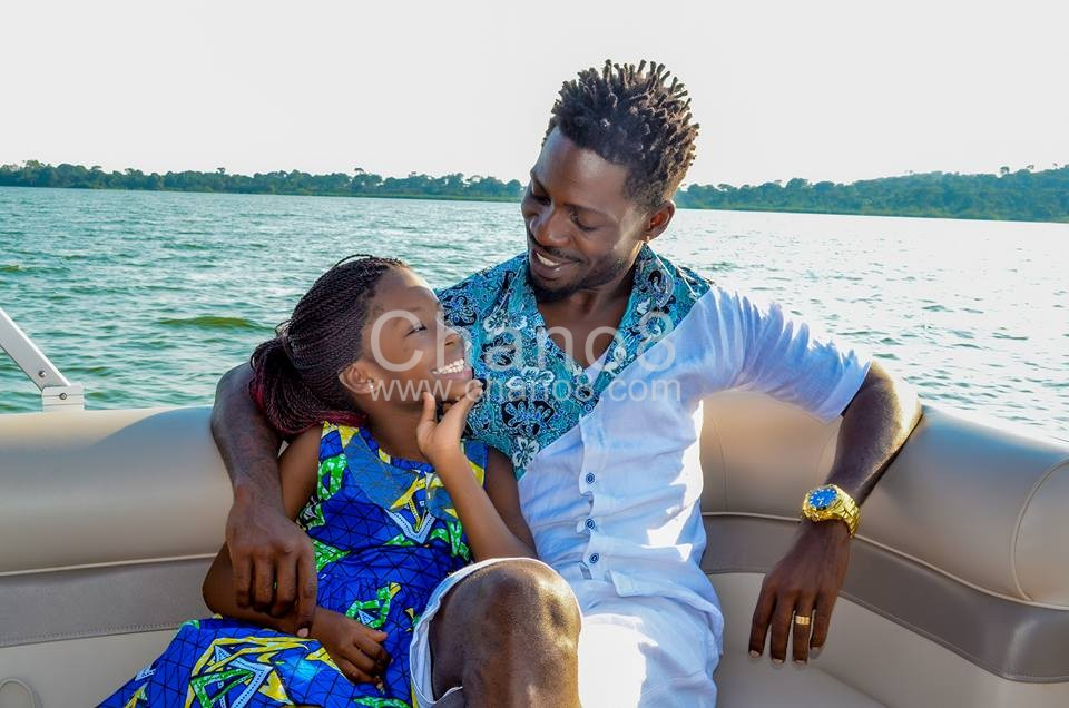 Bobi Wine is one doting father who transformed his life
