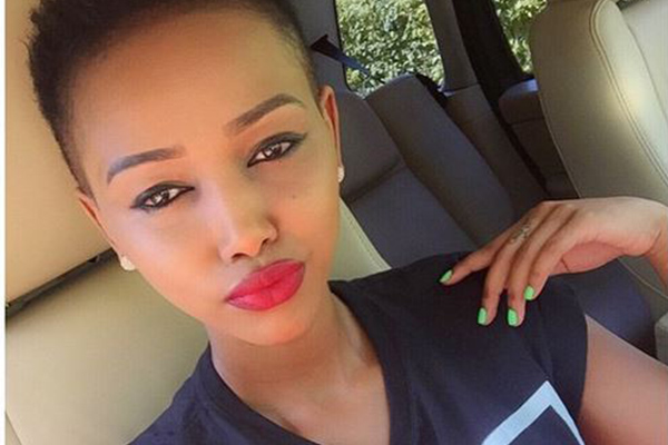 Huddah Monroe shocked the presenters with the big reveal