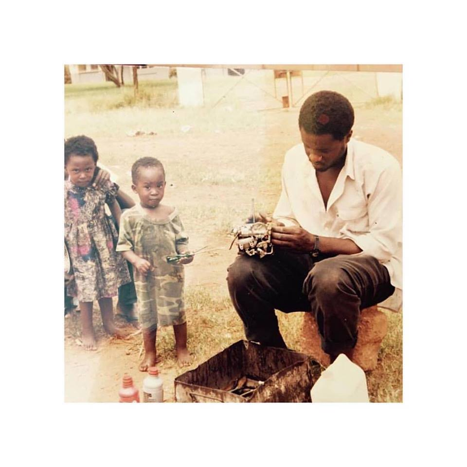 A Pass shares his adorable throwback picture