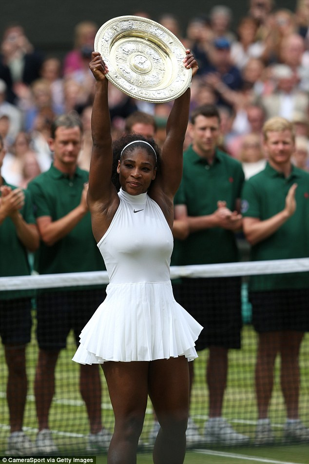 She is the most decorated Tennis player of her era