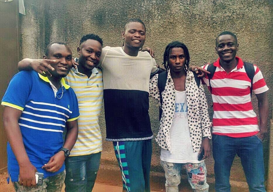 Pallaso with his colleagues