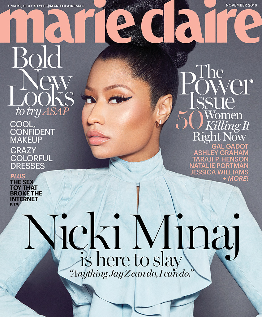 Nicki Minaj compares herself to the great rappers