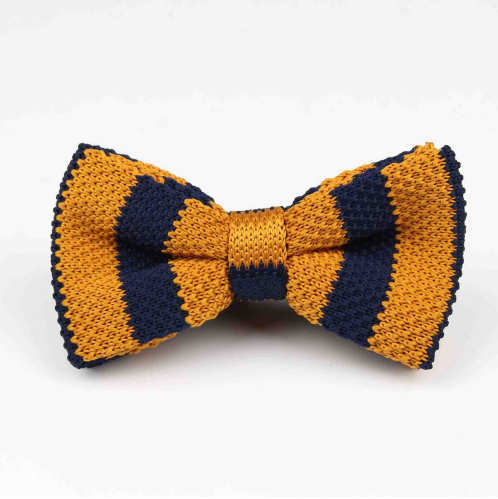 orange-and-navy-knitted-bow-tie-kshs-1000
